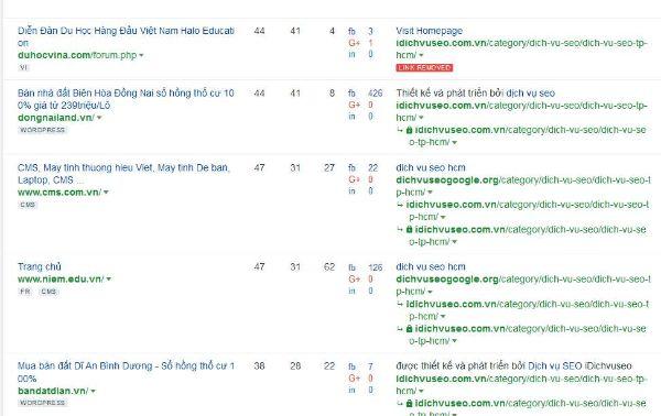 tìm kiếm back link chất lượng