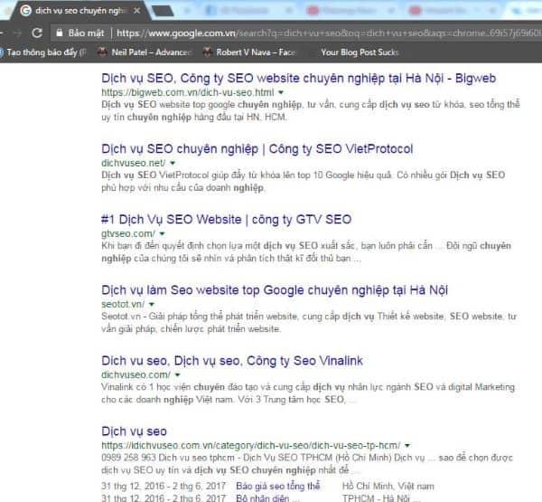 tìm backlink chất lượng cho website