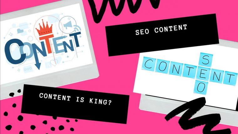 SEO content là gì? Content có còn là KING trong SEO hay không?